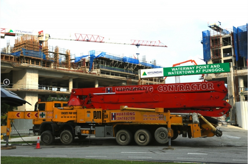 Huationg® Global Limited :: Rental of Concrete Pumps